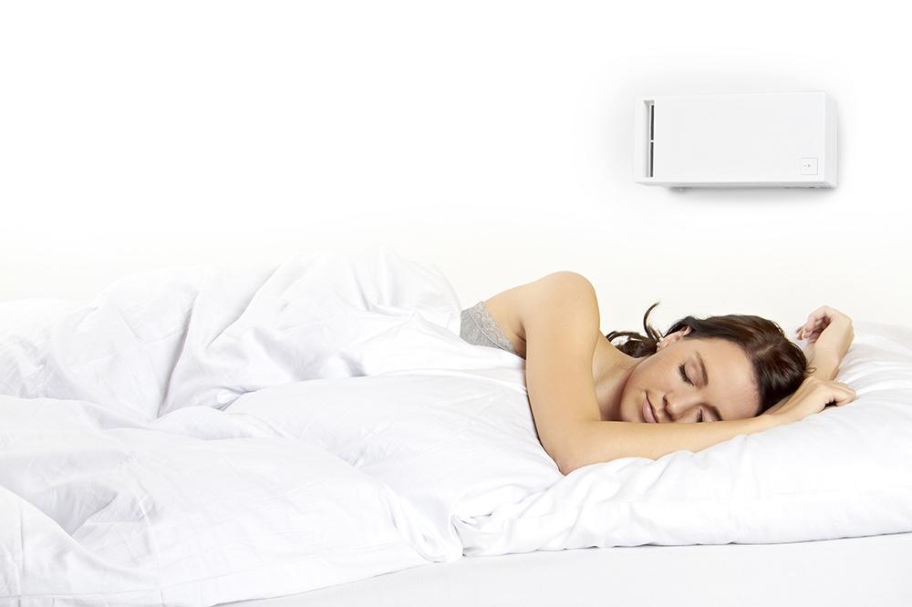 Miniventilasjon på soverommet
