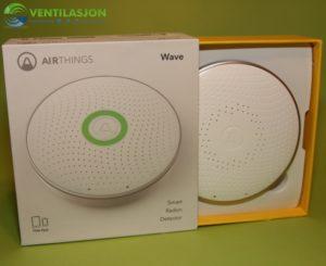 Airthings Home Innholdet i pakken