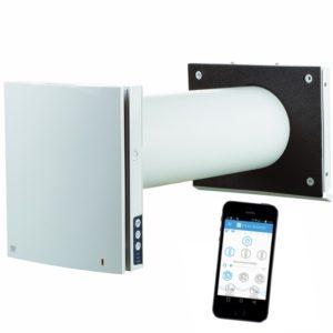 Roomie Dual Wifi miniventilasjon