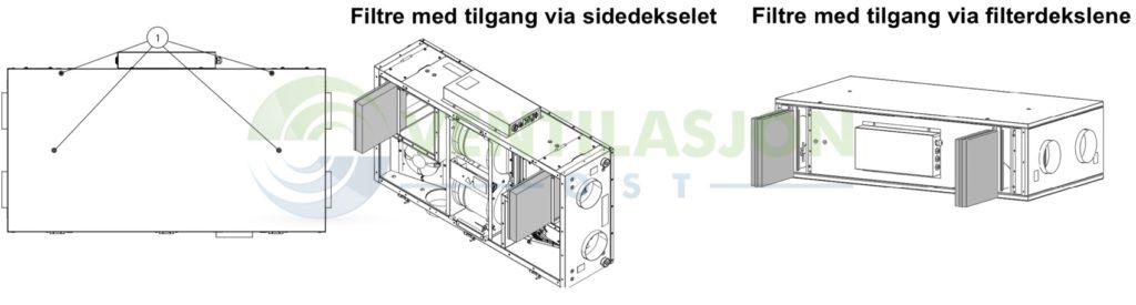 VSR 150 filterbytte