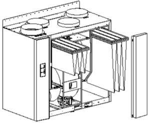 Villavent VR 700 EV filterbytte