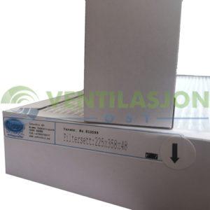 Filtersett til Nilan VPL 15