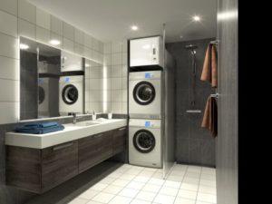 Exvent Salla i vaskesøyle ventilasjon
